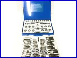 110 pcs Tap & Die Set Professional Imperial & Metric Set tapping thread Alloy st