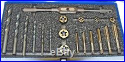 19 Piece Metric Tap, Drill And Die Set (f-3-1-1-141)