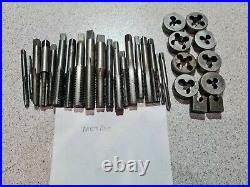 300+ Taps And Dies JOB LOT BA/SAF/UNC/BSWithBSF/UNF/ Presto, LAL, Toga, Warrior