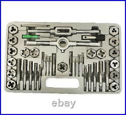 40 SAE & 40 Metric Tap & Die Dies Set Bolt Screw Extractor / Puller Removal Kit