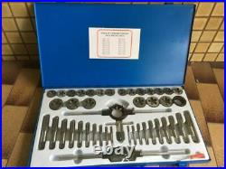 45 PC Tap and Die Set. Large Metric Taps and Dies. Alloy Steel Heavy Duty. New