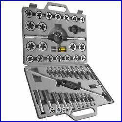 45pc Tungsten Steel Jumbo Tap And Die Set Metric Pro