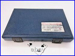 50pc Classic Craftsman Metric & SAE Tap & Die Set (ALL Sizes Present) USA MADE