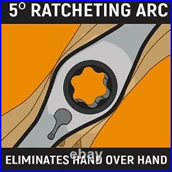 75-Piece Ratcheting Tap and Die Set, SAE/Metric Units Auto-Locking