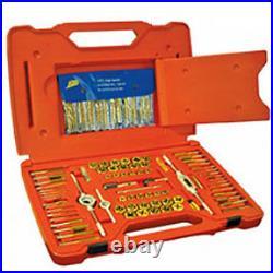 76 Pc. Machine Screw and SAE/Metric Tap and Hex Die Set Irwin Hanson 26376 AHN