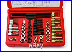 8240 53 Pc. Universal Rethreading Tap Die And File Set Sae / Metric USA Made