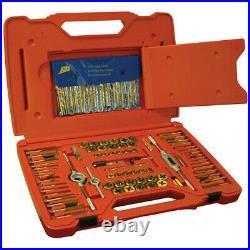 ATD 117-Piece Tap & Die Set with Drill Bit Set 277 New