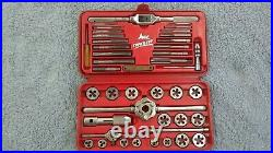 Ace Super Hex 41 pcs Metric Tap & Die Set #6312 by Hanson Made in USA