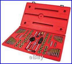 Atd Tools ATD-276 Machine Screw, Fractional & Metric Tap & Die Set, 76 Pc