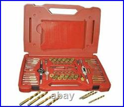 Atd Tools ATD-277 Machine Screw, Fractional & Metric Tap & Die Drill Bit Set