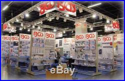 BGS Germany 45-pcs Tap and Die Set Tungsten Steel Titanium Coated Metric M6-M24