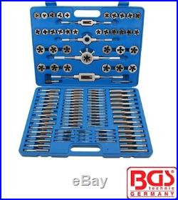 BGS Tools 110 Piece Tap And Die Set Sae And Metric Combined 900