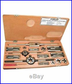 BRAND NEW HEAVY DUTY METRIC TAP AND DIE SET 06MM TO 20MM- METRIC COMPLETE Box