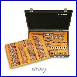 Beta Tools 446/C110 110pc Metric Tap & Die Set For Car Repair 004460060