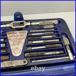 Blue-point Tools Metric Tap & Die Set Made In USA Tdm-2425 Double Hex