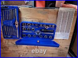 Blue point tap and die set
