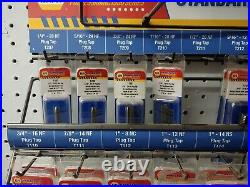 Collection Of NAPA SAE And Metric Tap And Dies (112 Pieces)