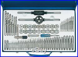 Combination Tap And Die Set Metric And Bsp (75 Piece) Draper 79205