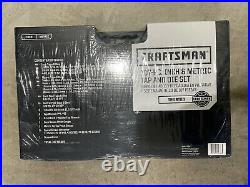 Craftsman 107 PC Tap & Die Set, Carbon Steel, Metric/Standard Inch SAE/MM