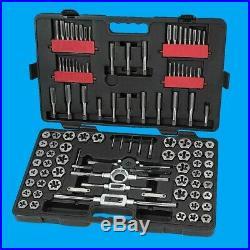 Craftsman 107 Piece Tap & Die Set Carbon Steel MM/SAE Metric Inch 75 Master Pro