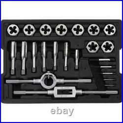 Craftsman 23 Piece Tap And Die Set Tool Standard SAE Size Large Plug Taps New
