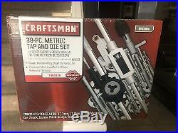 Craftsman 39 pc. Metric Tap and Die Set