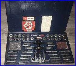 Craftsman 51-piece tap and hexagon die set, metric and SAE 9-5210