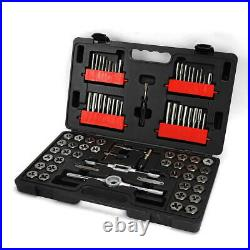 Craftsman 75 Pc Combination Tap & Die Carbon Steel Set Inch Sae Metric Mechanic