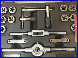 Craftsman 75 Piece SAE + Metric Combination Tap & Die Carbon Steel Set 52377