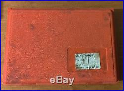 Craftsman Professional 39 PC HSS Tap and Die Set Metric USA