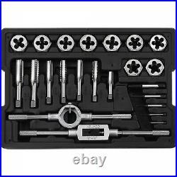 Craftsman Tap And Die Set Tool 23 Piece Standard Sae Metric Size Large Plug Taps