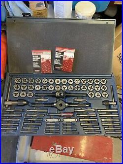Craftsman Tap & Hex Die Set Standard and Metric Thread 52377 SAE MM