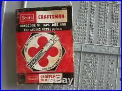Craftsman USA Made Tap & Hex Die Set Usa, Sae & Metric