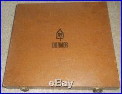 Dormer Tap and Die Set. M2 M2.5 M3 M3.5 M4 M5 In Case Metric