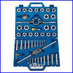 Draper 42 Piece Metric Tap And Die Threading Set With'T' Type Wrench 18523