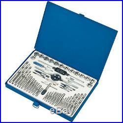 Draper 52 Piece Metric & UNF Tap & Die Set with Correct HSS Drill Bit Set 79204