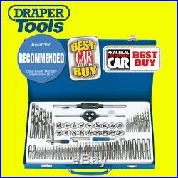Draper 75 Piece Combination Tap and Die Set Metric and BSP 79205 In Steel Case