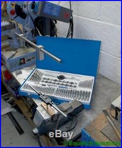 Draper Tools 79205 75MM Metric & BSP Tap & Die Set Coarse & Fine 75 Piece New