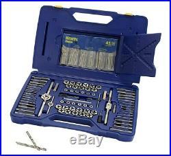 Drill/Tap/Die Set, 117pc, HSS 26377