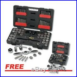 GEARWRENCH 3887TD SAE/Metric Ratcheting Tap and Die Drive Tool Set withFREE Metric