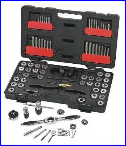 GEARWRENCH 3887 75 Pc. SAE/Metric Ratcheting Tap and Die Set