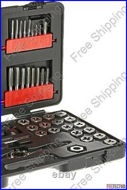 GEARWRENCH 75 Piece Ratcheting Tap and Die Set, SAE/Metric 3887