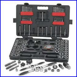 GEARWRENCH 82812 114 Pc. SAE/Metric Ratcheting Tap and Die Set