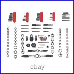 GEARWRENCH Ratcheting Tap and Die Set 114-Piece with Reversible Lever Auto-Locking