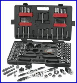GearWrench 114 Pc. SAE/Metric Ratcheting Tap and Die Set 82812