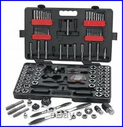 GearWrench 114 pc. Large SAE/Metric Ratcheting Tap and Die Set #82812