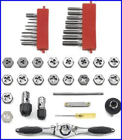 GearWrench 3886 40 Piece Ratcheting Tap and Die Set Metric in Case