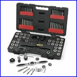 GearWrench 3887 Ratcheting SAE / Metric Tap and Die Master Kit Tool Set