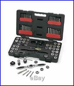 GearWrench 3887 Ratcheting Tap Die Drive Tool Set SAE Metric Units 75Pc Tool New