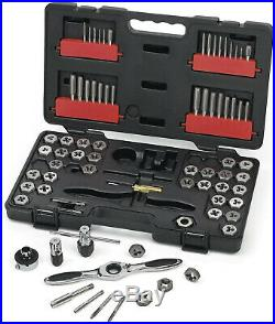 GearWrench 3887 Tap and Die 75 Piece Set Combination SAE/Metric